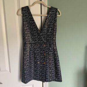 NWT Zara pinafore dress